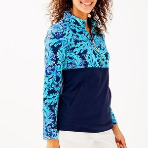 NWT Lilly Pulitzer Asher popover in too deep